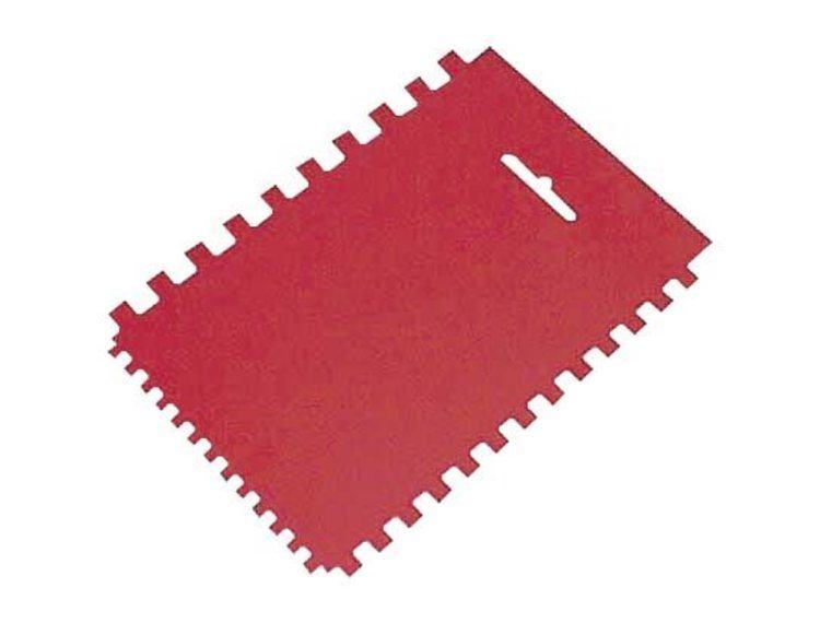 Tannsparkel plast rød 4-6-8 mm
