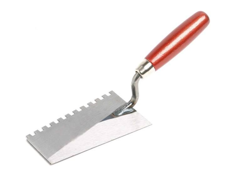 Sokkelskje 140 mm tanning 6 mm