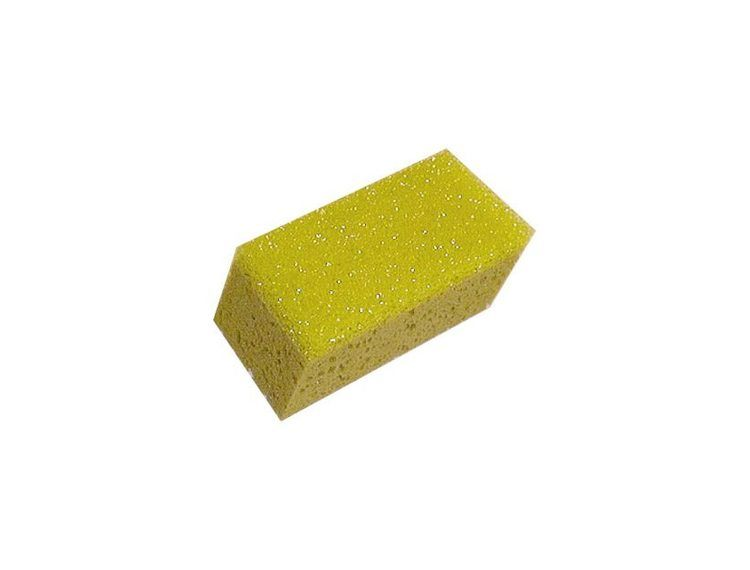 Svamp med skurepad på én side