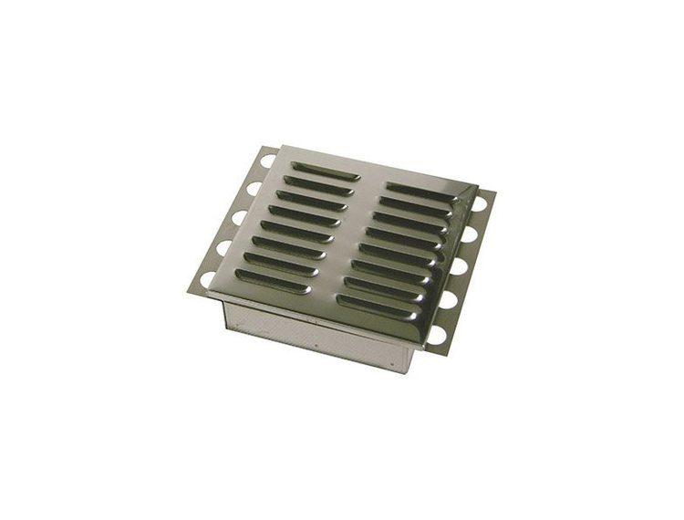 Inspeksjonsluke børstet stål 20x20 cm
