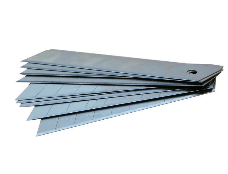 Tapetkniv blad 10 stk i pakke 18 mm
