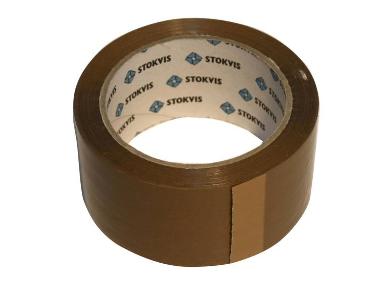 Pakketape brun 50 mm