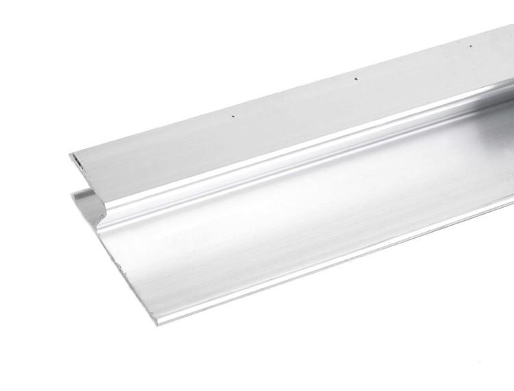 Rettholt aluminium H-profil 180 cm