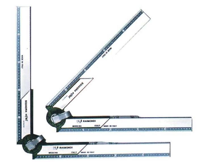 Justerbar vinkel 50 cm m/libell