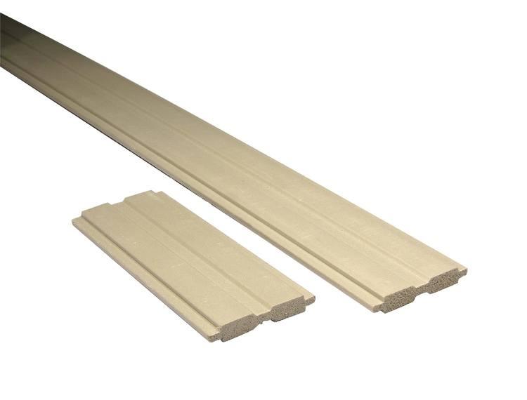 Mellomleggslist PVC 18 cm for glb.stein