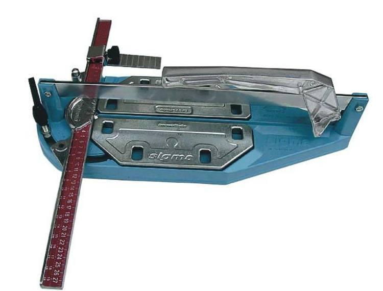 Sigma 2G flisekutter 37 cm, Diag. 26 cm