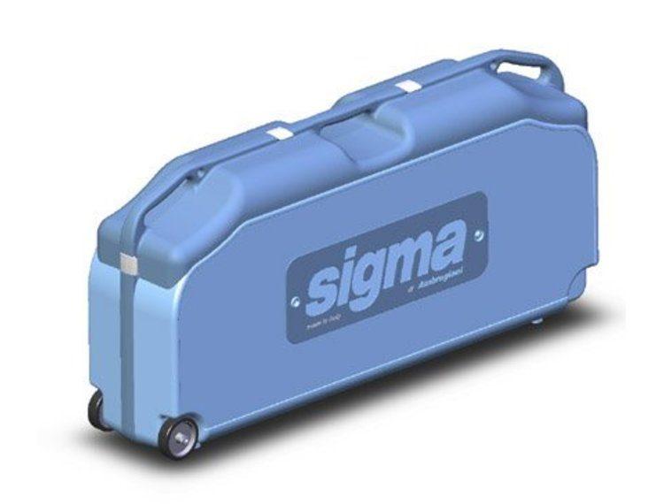 Sigma koffert m/hjul (Opptil 3C-CK-C2-C2M)