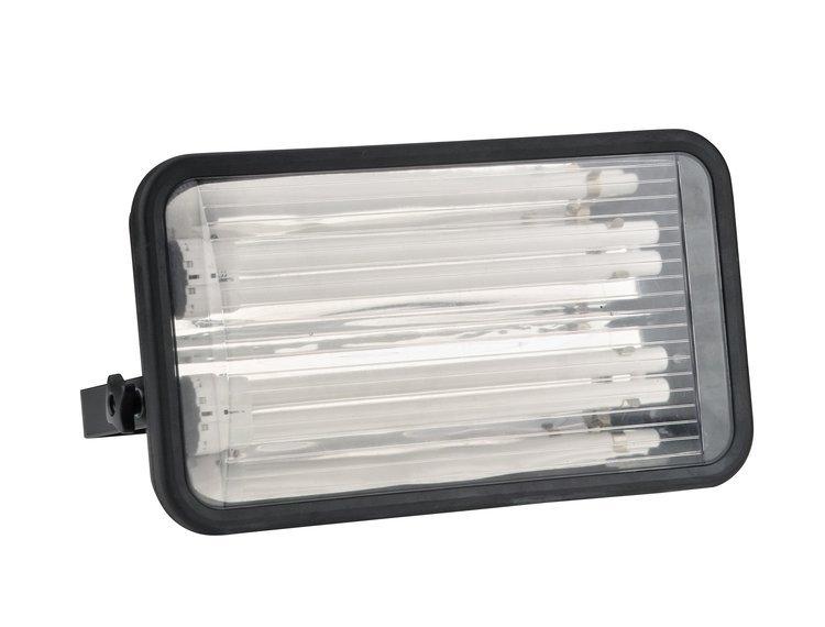 Arbeidslampe Pollux 2 x 24 W m/ 1 stikkontakt