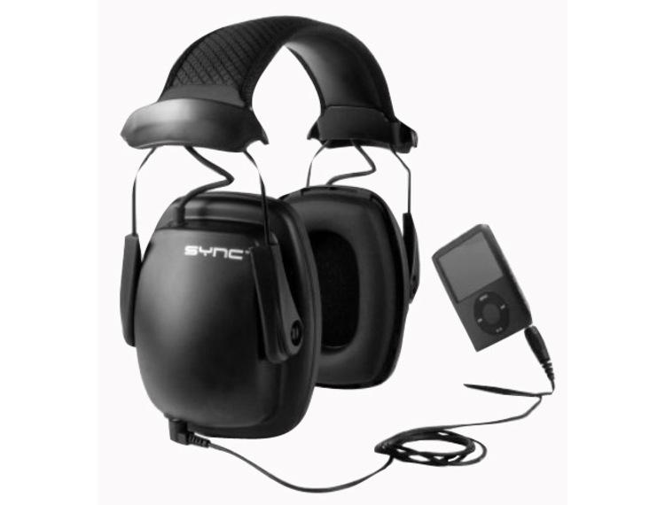 Hørselvern Sync med innebygget stereo høytaler