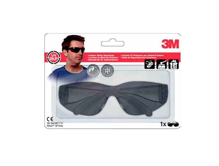 3M Vernebrille Virtua mørk VIRTUAG