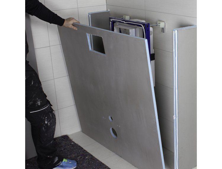 Tetti plate for vegghengt toalett, 1200x1200x20mm