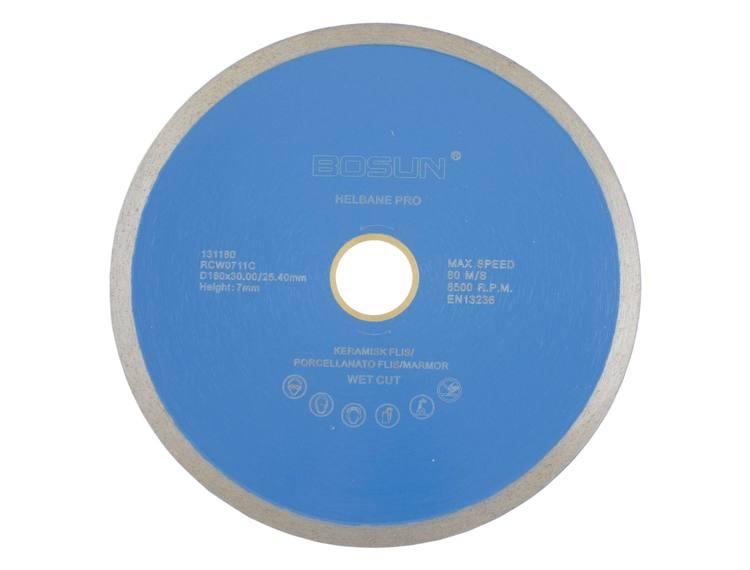 Diamantblad helbane 180/30-25,4 mm Bosun Pro Blå