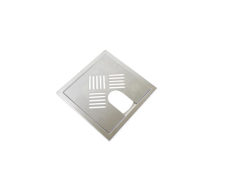 Design Slukrist N°3 20x20cm med uthugg børstet stål