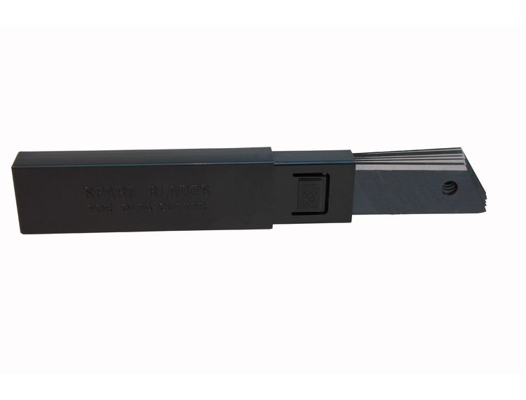 Tapetknivblad Olfa Sort Proff 18mm 10pk