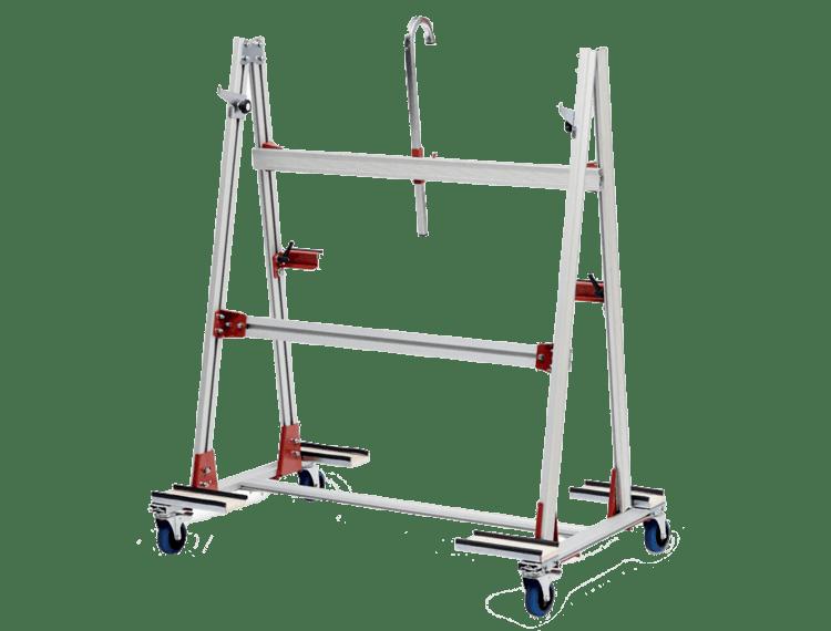 Cam Adv. Tralle for store fliser, maks 250 kg