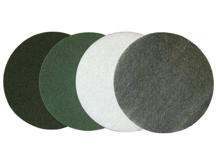 Maxititina pad Ø 457 mm grønn medium