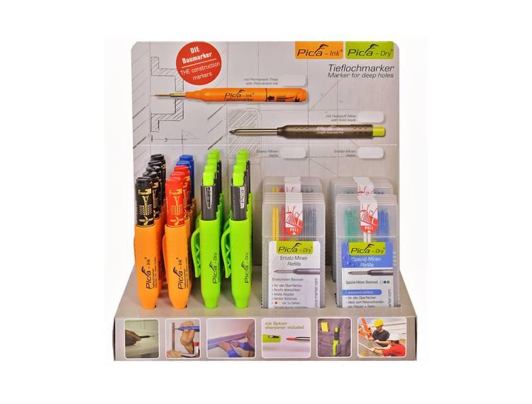 Pica Pappdisplay, plass til 20 penner og 20 refill