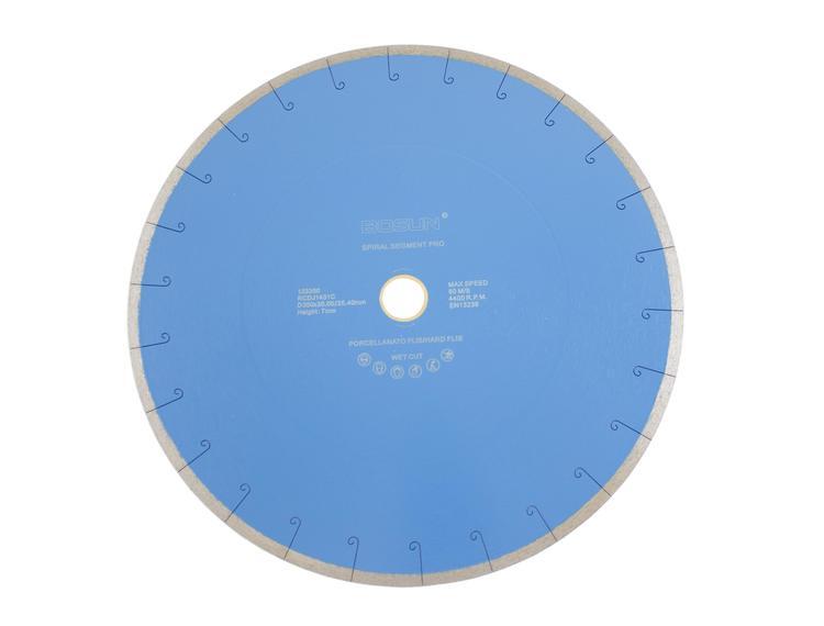 Diamantblad spiralsegment 350/30-25,4 mm Bosun Pro Blå