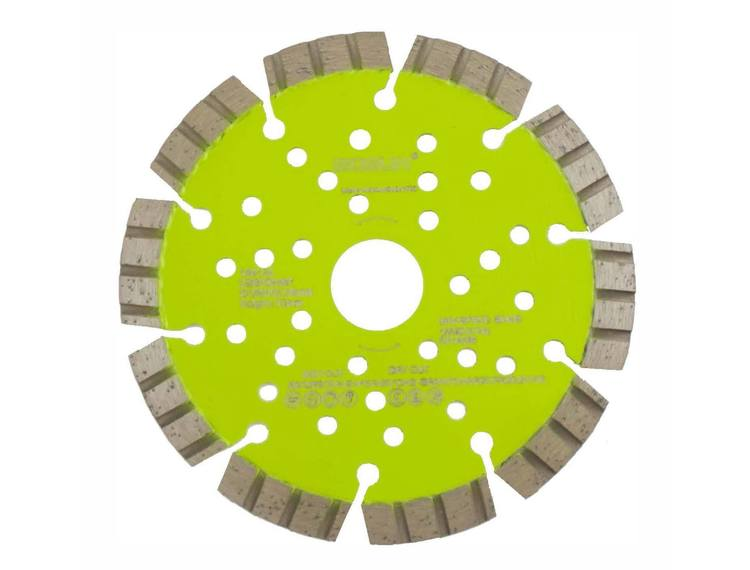 Diamantblad turbosegment 125/22,2 mm Bosun Pro Grønn