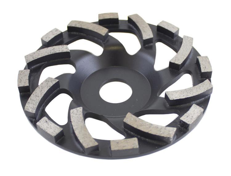 Diamantslipekopp Turbo Ø125 mm Bosun Pro Svart