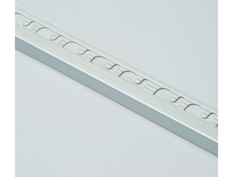 Projolly firkant Symetriclist eloksert alu 10 mm 270 cm