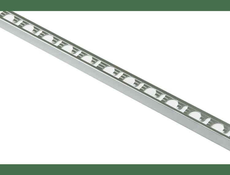 Proterminal endelist krom alu 12,5 mm 270 cm