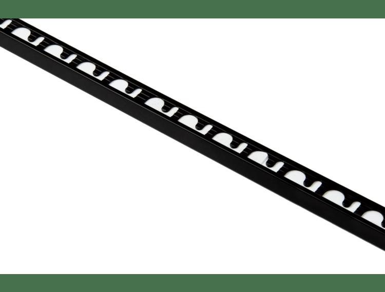 Proterminal endelist sort blank alu 12,5 mm 270 cm