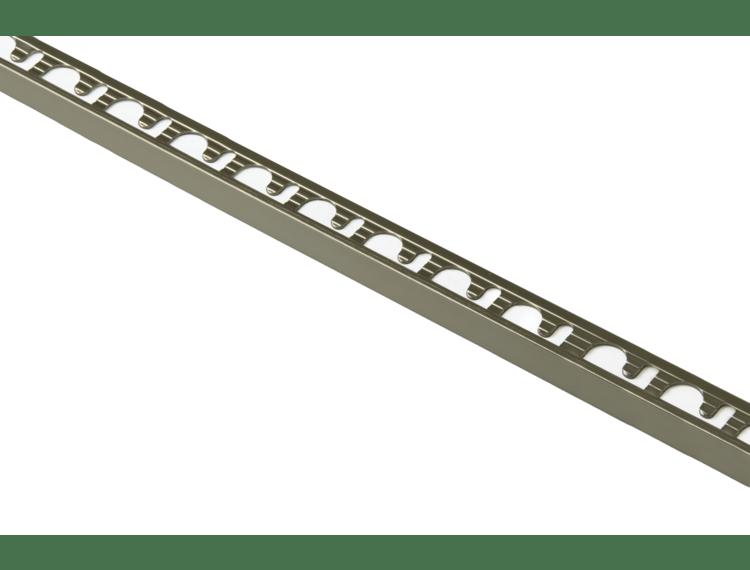 Proterminal endelist børstet titan alu 10 mm 270 cm