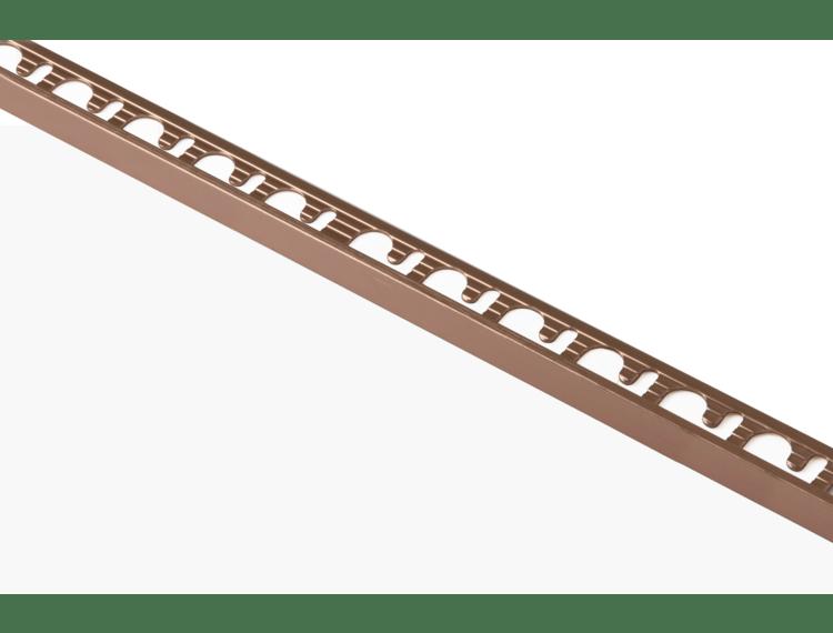 Proterminal endelist børstet kobber alu 8 mm 270 cm