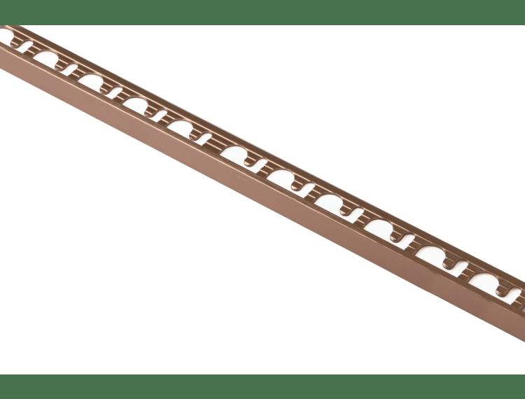 Proterminal endelist børstet kobber alu 12,5 mm 270 cm