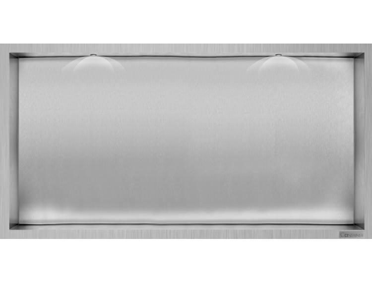 ESS Container Box10 Veggnisje LED  børstet stål 60x30xcm