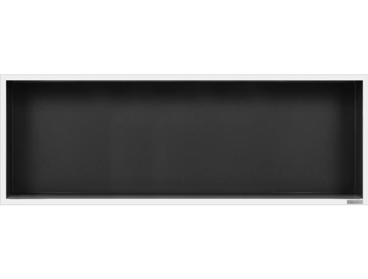 ESS Container Box10 veggnisje antrasitt,ramme polert stål 90x30x10 cm