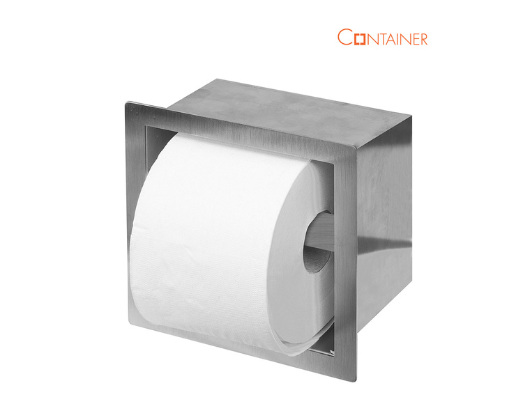 ESS Container Roll Square WC papir holder for 1 rull (TCL-4)