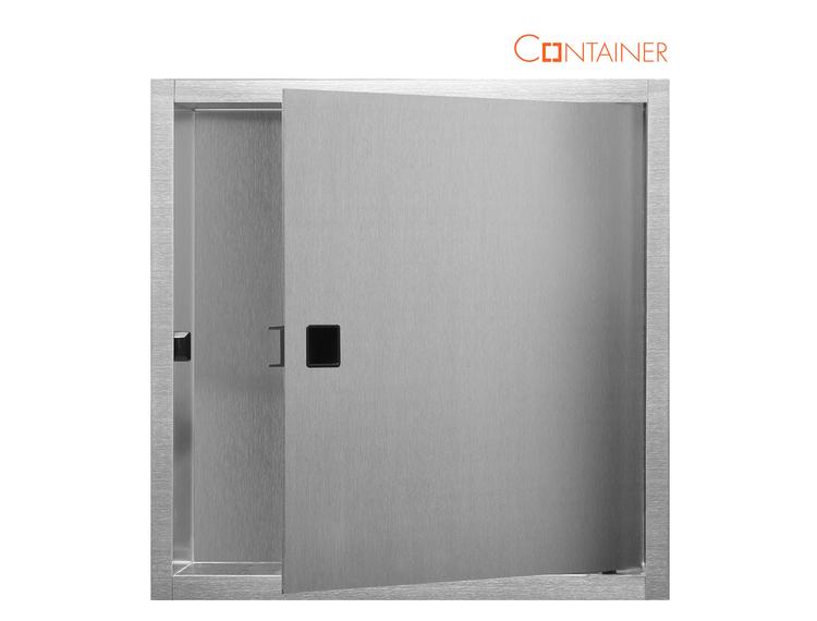 ESS Container Box10 Veggnisje m/dør 30x30cm (BOX-30x30x10-D)