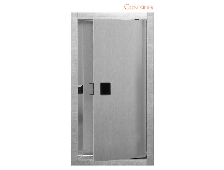 ESS Container Box10 Veggnisje m/dør 15x30cm (BOX-15x30x10-D)