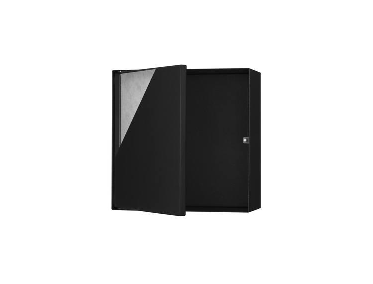 ESS Container T-Box14 veggnisje sort 30x30x14 cm med dør for flis
