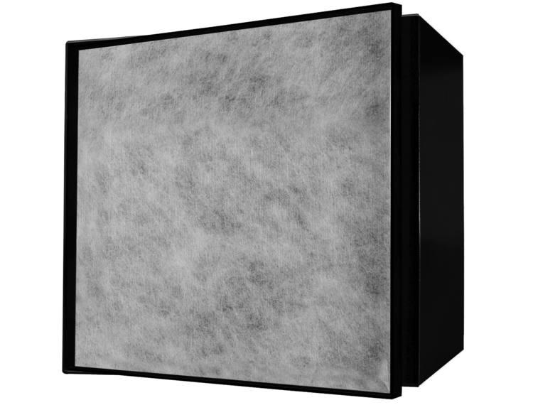 ESS Container T-Box14 veggnisje sort 15x15x14 cm med dør for flis