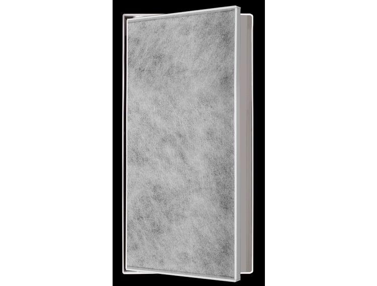 ESS Container T-Box14 Veggnisje hvit med dør for flis 15x30x14cm