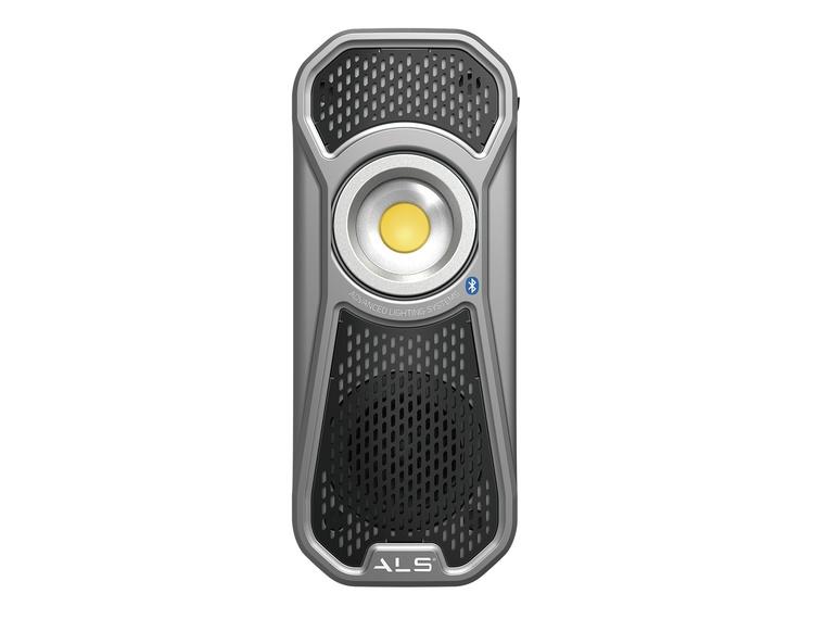 Arbeidslampe ALS 60 R LED med høytaler Bluetooth