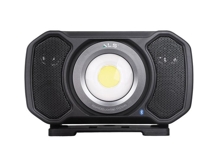 Arbeidslampe ALS 200 C+R LED med høytaler Bluetooth