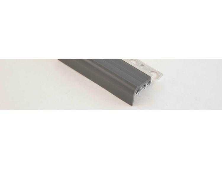 Prostair trappenese grå PVC 12,5 mm 270 cm