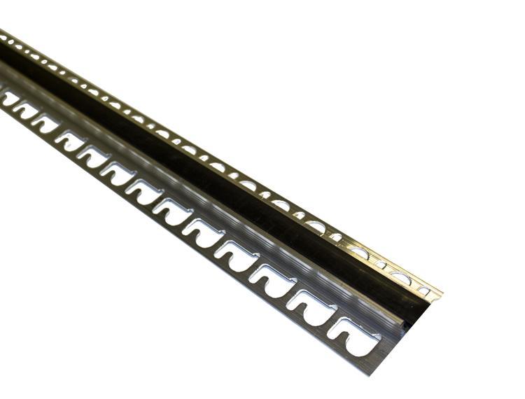 Proflex AL eksp. fuge sort 10 mm alu. 250 cm