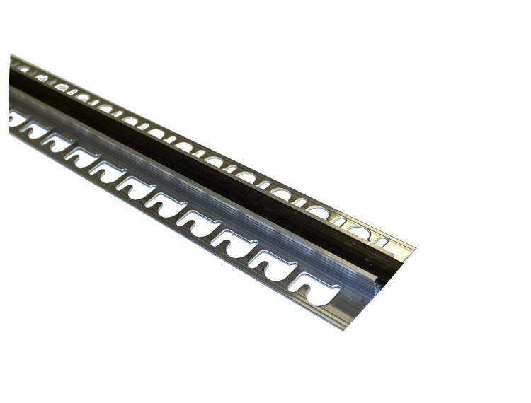 Proflex AL eksp. fuge sort 12,5 mm alu. 250 cm