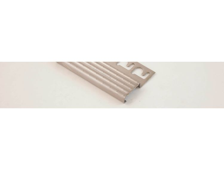 Prostair ACC trappenese børstet stål 10 mm 270 cm