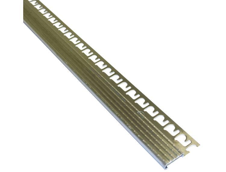 Prostair ACC trappenese børstet stål 12,5 mm 270 cm
