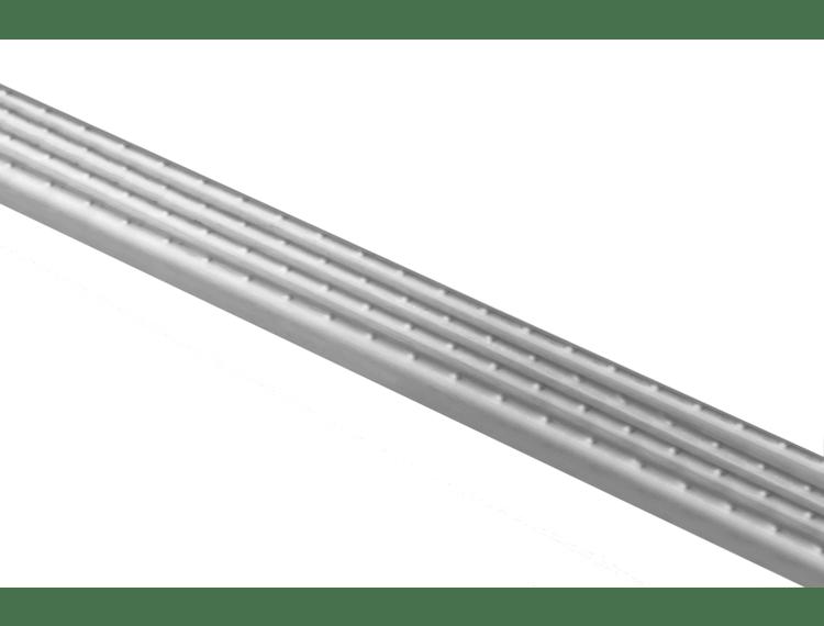 Prostyle 2610 trappenese børstet stål selvklebende 270 cm