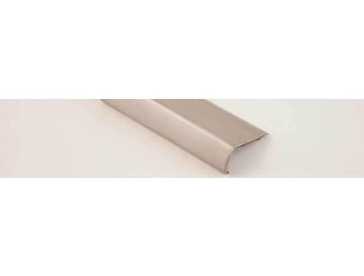 Prostyle Grip ACC trappenese børstet stål selvklebende 270 cm