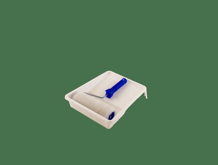 Malerbakke med rulle