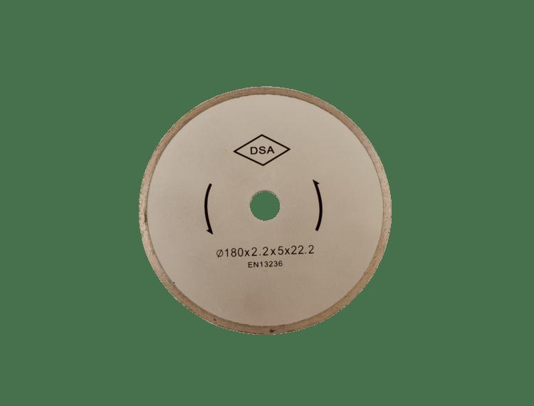 Diamantblad helbane 180/22,2 mm for TC 180