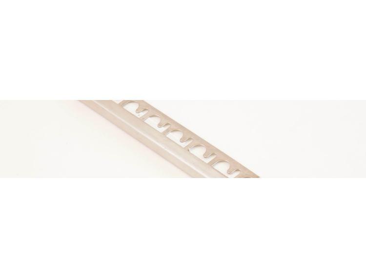 Projolly firkant Symetriclist blankpolert stål 8 mm 270 cm